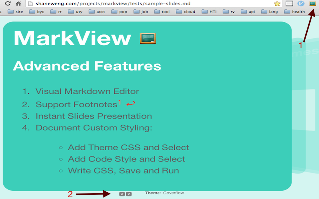 MarkView Advanced Features